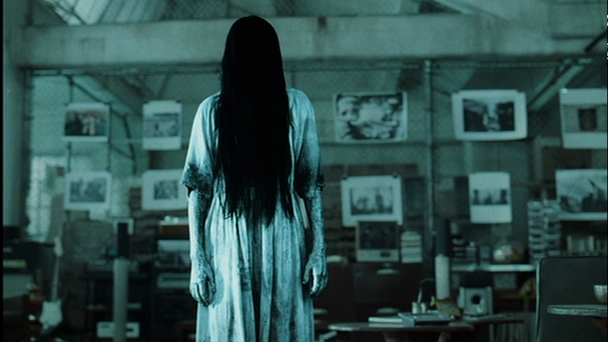 Un'immagine di Samara dal film The ring