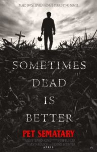 Pet Sematary remake 2019, poster del film