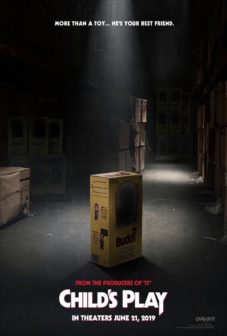 Poster di Child's play remake e data d'uscita del film