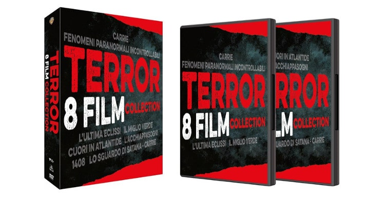 DVD horror e Bluray per Natale 2018